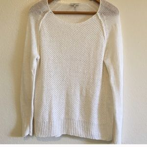 Joie 100% Linen Open Stitch Sweater Small